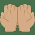 🤲🏽 Medium Skin Tone Palms Up Together Emoji on Twitter Platform