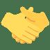 🤝 Handshake Emoji on Twitter Platform