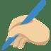 ✍🏼 writing hand: medium-light skin tone Emoji on Twitter Platform