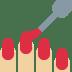 💅🏼 nail polish: medium-light skin tone Emoji on Twitter Platform