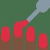 💅🏿 nail polish: dark skin tone Emoji on Twitter Platform