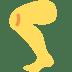 🦵 leg Emoji on Twitter Platform