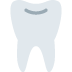 🦷 tooth Emoji on Twitter Platform