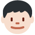 👦🏻 boy: light skin tone Emoji on Twitter Platform