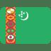 🇹🇲 flag: Turkmenistan Emoji on Twitter Platform