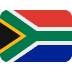 🇿🇦 flag: South Africa Emoji on Twitter Platform