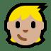 🧒🏼 child: medium-light skin tone Emoji on Windows Platform