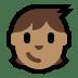🧒🏽 child: medium skin tone Emoji on Windows Platform