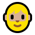 🧔🏼 man: medium-light skin tone, beard Emoji on Windows Platform