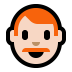 👨🏻🦰 man: light skin tone, red hair Emoji on Windows Platform