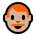 👨🏼‍🦰 man: medium-light skin tone, red hair Emoji on Windows Platform
