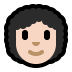 👩🏻‍🦱 woman: light skin tone, curly hair Emoji on Windows Platform