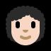 👩🏻🦱 woman: light skin tone, curly hair Emoji on Windows Platform