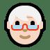 🧓🏻 older person: light skin tone Emoji on Windows Platform