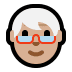 🧓🏼 older person: medium-light skin tone Emoji on Windows Platform