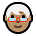 🧓🏽 older person: medium skin tone Emoji on Windows Platform