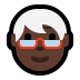 🧓🏿 Dark Skin Tone Older Person Emoji on Windows Platform