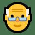 👴 old man Emoji on Windows Platform