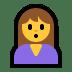 🙎♀️ woman pouting Emoji on Windows Platform