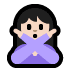 🙅🏻 person gesturing NO: light skin tone Emoji on Windows Platform