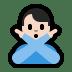 🙅🏻♂️ man gesturing NO: light skin tone Emoji on Windows Platform