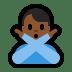🙅🏾♂️ Medium Dark Skin Tone Man Gesturing No Emoji on Windows Platform