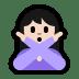 🙅🏻♀️ woman gesturing NO: light skin tone Emoji on Windows Platform