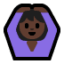 🙆🏿 person gesturing OK: dark skin tone Emoji on Windows Platform