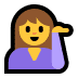 💁 person tipping hand Emoji on Windows Platform