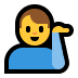💁♂️ man tipping hand Emoji on Windows Platform