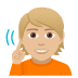 🧏🏼 deaf person: medium-light skin tone Emoji on Windows Platform