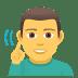 🧏♂️ deaf man Emoji on Windows Platform