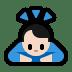 🙇🏻♂️ man bowing: light skin tone Emoji on Windows Platform
