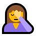 🤦 person facepalming Emoji on Windows Platform