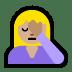 🤦🏼 person facepalming: medium-light skin tone Emoji on Windows Platform