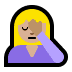 🤦🏼‍♀️ woman facepalming: medium-light skin tone Emoji on Windows Platform