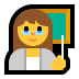 👩‍🏫 woman teacher Emoji on Windows Platform
