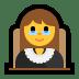 👩⚖️ woman judge Emoji on Windows Platform