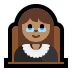 👩🏽‍⚖️ woman judge: medium skin tone Emoji on Windows Platform