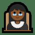 👩🏾⚖️ Medium Dark Skin Tone Female Judge Emoji on Windows Platform