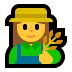 👩‍🌾 woman farmer Emoji on Windows Platform