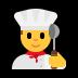 👨🍳 man cook Emoji on Windows Platform