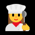 👩‍🍳 woman cook Emoji on Windows Platform