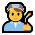 👨‍🏭 man factory worker Emoji on Windows Platform