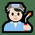👨🏻🏭 man factory worker: light skin tone Emoji on Windows Platform
