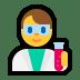 👨🔬 man scientist Emoji on Windows Platform