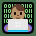 👨🏽💻 man technologist: medium skin tone Emoji on Windows Platform