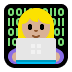 👩🏼‍💻 woman technologist: medium-light skin tone Emoji on Windows Platform