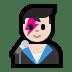 👨🏻🎤 man singer: light skin tone Emoji on Windows Platform