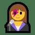 👩🎤 woman singer Emoji on Windows Platform